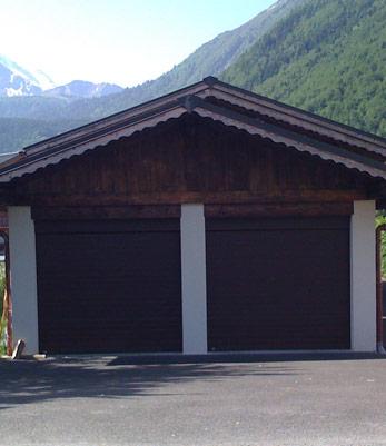 Porte garage motorisation somfy sallanches megeve cluses for Garage peugeot haute savoie